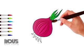 Lets Draw Onion
