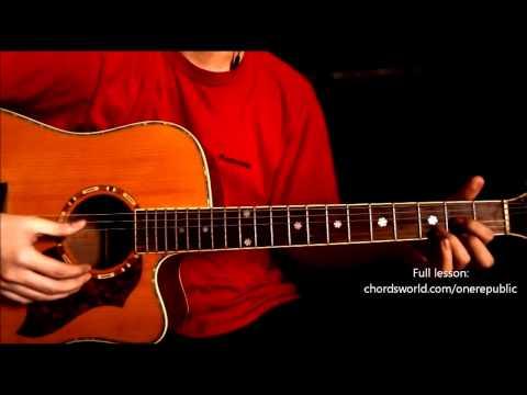 """If I Lose Myself Chords """"OneRepublic"""" ChordsWorld Guitar Tutorial"""