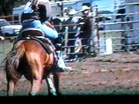 Velva High School Rodeo Barrel Racing Champion