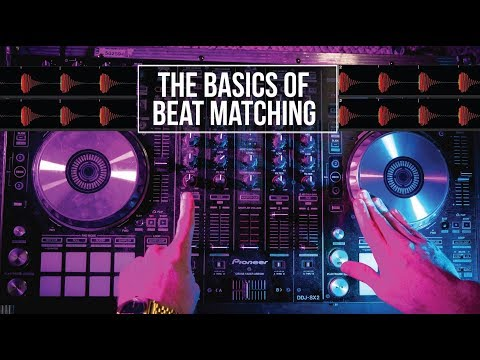 How to beat match - How to DJ for beginners