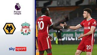Diogo Jota mit Siegtreffer gegen den Ex-Klub | Wolverhampton Wanderers - Liverpool 0:1 | Highlights