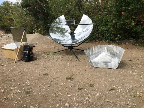 Solar Cooking in Haiti 01 - January 2017