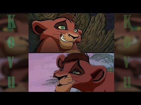 ВСЕ сцены с мелким Кову (Король лев 2)