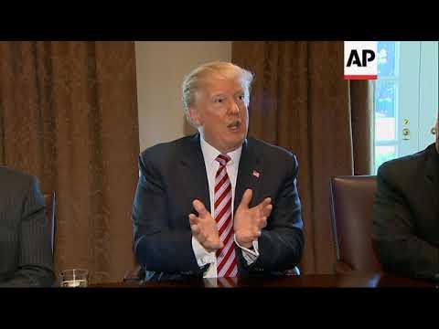 Trump weighing 'all options' on steel, aluminium