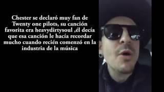 Chester Bennington Vocalista de Linkin Park se SU1C1D4
