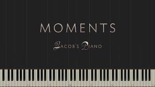 Moments - Original Piece \\ Synthesia Piano Tutorial