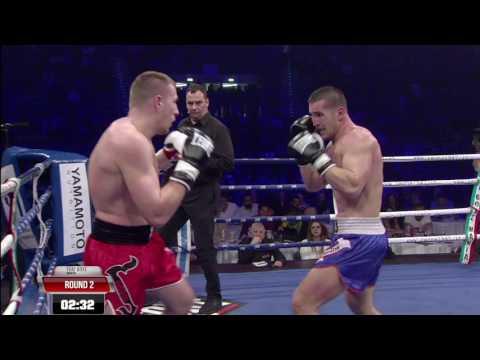Dragos Zubco vs Lucian Danielencu Thai Boxe Mania 2017