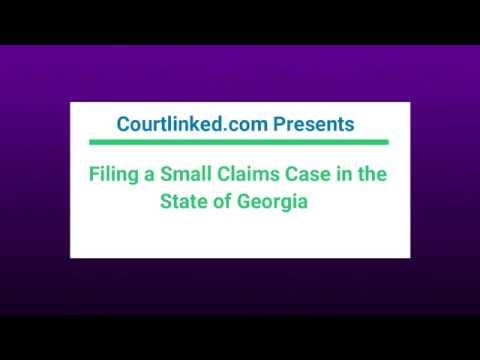 Georgia Small Claims - Courtlinked.com