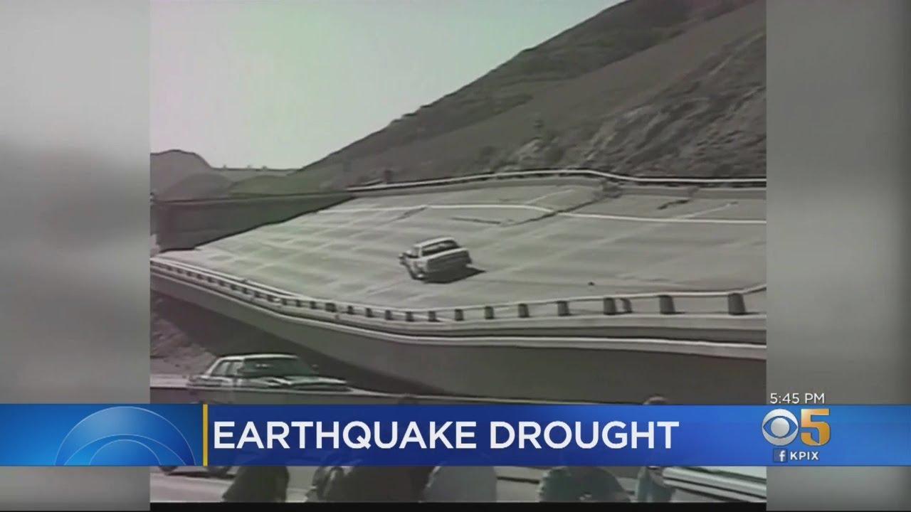 California is in an unprecedented earthquake drought