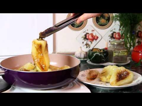 Как жарить перец на сковороде