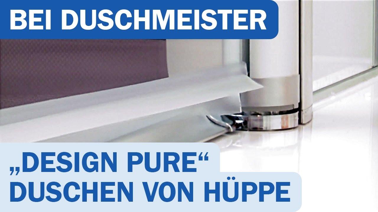Hüppe Duschkabine Design Pure Produktvideo Awesome Ideas