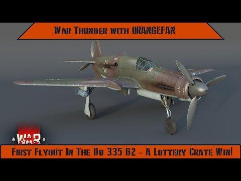 War Thunder - Do 335 B2, Lottery Crate 75% Discount!
