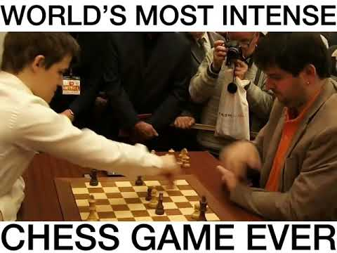 Magnus Carlsen   most intense Chess Game Ever  