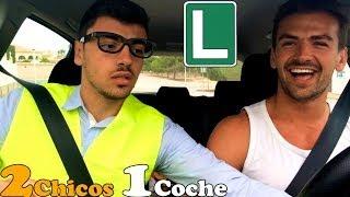 10 Cosas que NO debes hacer en un Examen de Conducir - 2 Chicos 1 Coche