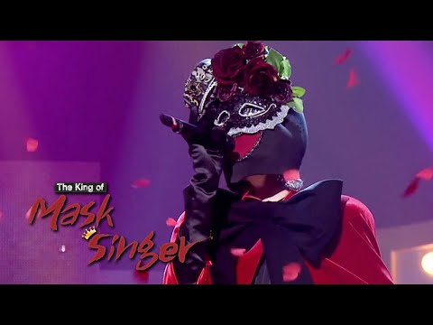 """Tiffany - """"Rose of Betrayal"""" (Uhm Jung Hwa) Cover [The King of Mask Singer Ep 220]"""