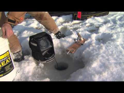 Ice Fishing For Brook Trout, Minden ON - Part 1 Of 4
