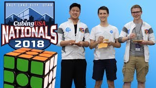 US Nationals Rubik's Cube Competition 2018!