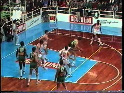 Larry Drew incontenibile (Pesaro vs Cantù 1988)