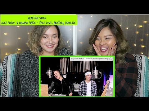 Reaction Video - Alex Aiono and William Singe...