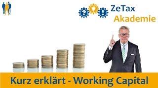 Kurz erklärt:  WorkingCapital