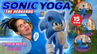 Sonic The Hedgehog | A Coṡmic Kids Yoga Adventure!