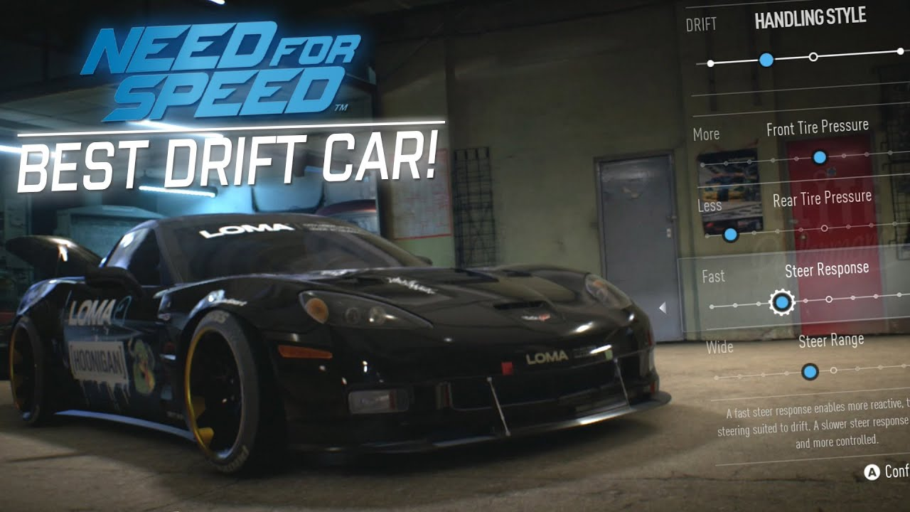 Best Easiest Drift Car Tune Corvette Gameplay Need For