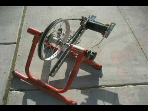 Free Diy Byo Plans For Pedal Power Bicycle Generator Youtube