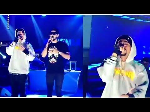Bohemia and Bilal Saeed Singing Live ## No Makeup ##