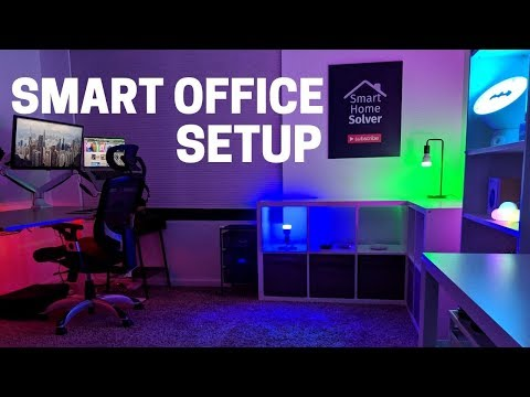 My Smart Office Setup: Making Work Easy