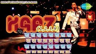 Meri Umar Ke Naujawanon - Karaoke With Lyrics - Karz (1980) - Kishore Kumar