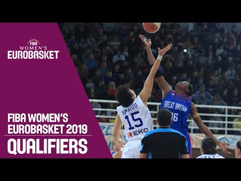 Greece v Great Britain - Full Game - FIBA Women's EuroBasket 2019 Qualifiers