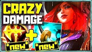 Deal INSANE Damage with ⚔️CRIT + *NEW* CONQUEROR Miss Fortune!! | League of Legends (Season 10)