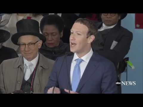 Mark Zuckerberg Harvard Commencement Speech 2017 FACEBOOK CE