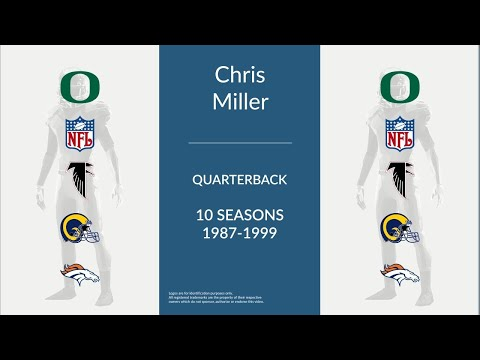Chris Miller: Football Quarterback