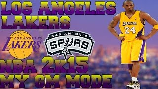 NBA 2K15 Lakers My GM Mode ROUND 2 EXIT EP19