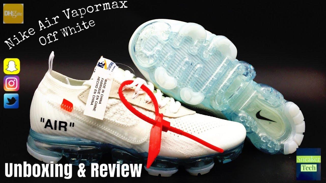 e76f8724045 Nike Vapormax Off White DHGATE - YouTube