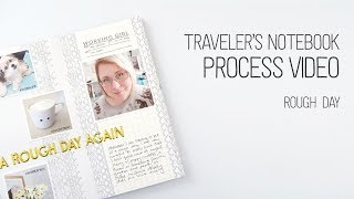 Gambar cover Traveler's Notebook Layout // Rough Day // What a disaster!