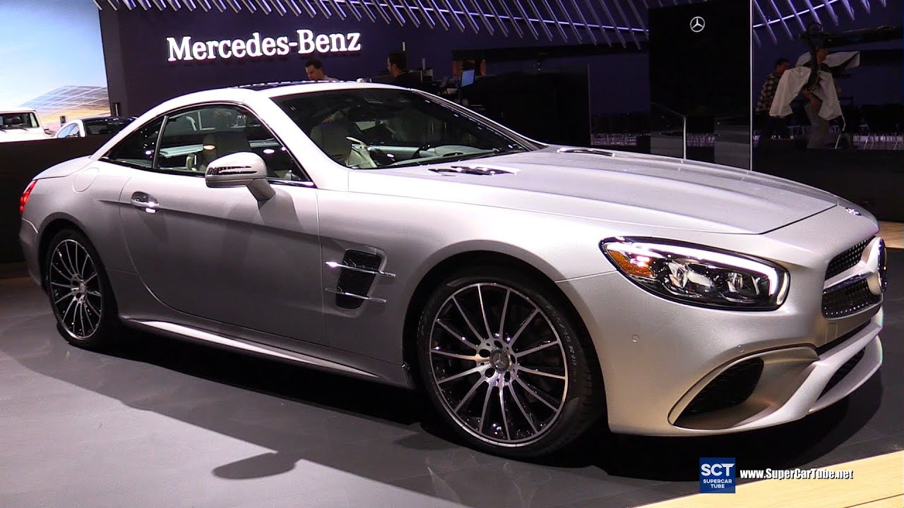 2017 Mercedes Benz Sl550 Roadster Exterior And Interior Walkaround 2016 New York Auto Show