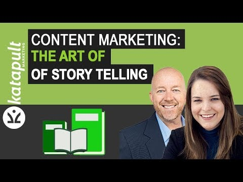 Content Marketing: The Art Of Story Telling With Melanie Deziel [Webcast #35]