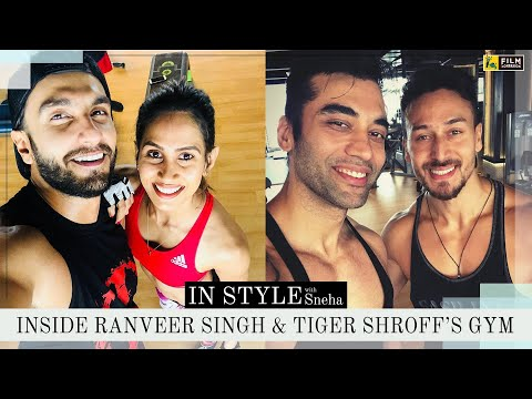 Inside Reset | Ranveer Singh & Tiger Shroff's Gym | In Style With Sneha | Film Companion