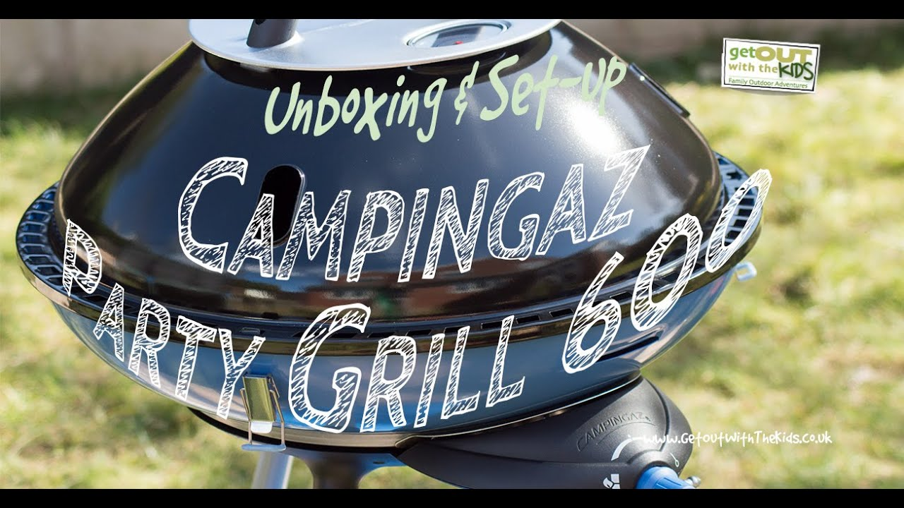 video The Campingaz Party Grill – An Alternative to the Cadac?