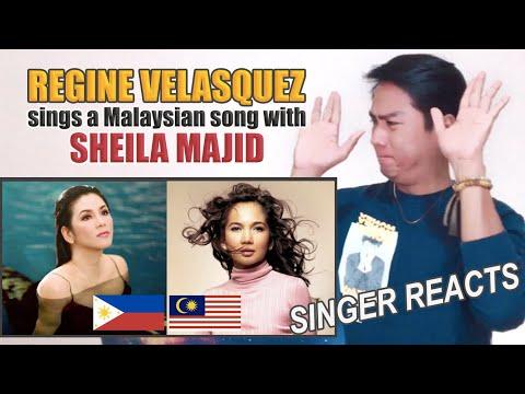 Bukan Salah Cinta - Regine Velasquez And Sheila Majid | SINGER REACTS