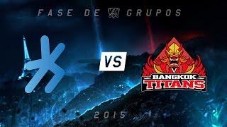 [Mundial 2015] H2k x Bangkok Titans - Grupo C, Dia 3