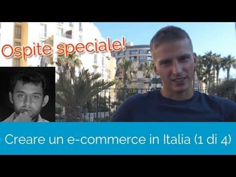 Creare un e-commerce in Italia (1 di 4) - 65 domande all'esperto