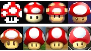 Evolution of Items in Mario Kart (1992-2017)
