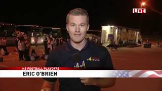 Eric OBrien LIVE Playoff Preview - Midland at Montwood (funny)