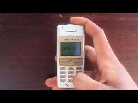 Sony Ericsson T100 Hp Jadul Layar Biru Klasik Langka Antik
