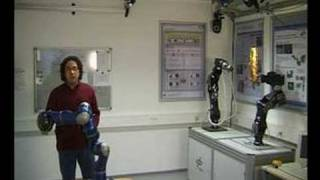 Thesis demo: Bilateral Telerobotics in Presence of Time-Varying Delays and Packet-Loss. (2008)