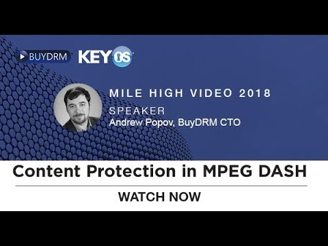 Content Protection In MPEG DASH