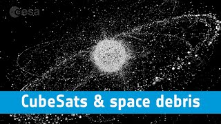 ESA webinars - CubeSats in the context of space debris